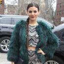 Victoria Justice Mara Hoffman Fashion Show In Nyc