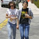 Kristen Stewart Out and About In Silverlake