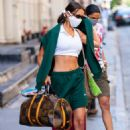 Bella Hadid – Heads out to play tennis in New York City