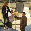 Jessica Alba - On Set Of Machete Aug 17 2009
