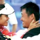 Li Na and Shan Jiang