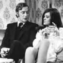 Michael Caine and Geraldine Moffat in Get Carter (1971) - 376 x 304