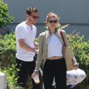 Kate Mara and Jamie Bell – Out in Burbank