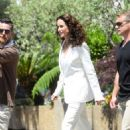 Andie MacDowell out in Cannes - 454 x 670