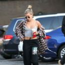 Hailey Bieber – Arrives at 3rd Street Dance in Los Angeles