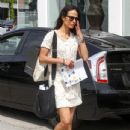 Jordana Brewster and Maria Joao Brewster spend time out together on April 6, 2016