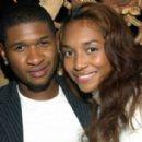 Usher Raymond and Rozonda Chilli Thomas