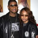 Usher Raymond and Rozonda Chilli Thomas