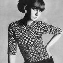 Chrissie Shrimpton - Vogue Magazine Pictorial [United Kingdom] (1 October 1965)