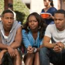 (L-r) BRANDON T. JACKSON as Benny, NATURI NAUGHTON as Stacie and BOW WOW as Kevin Carson in Alcon Entertainment's comedy 'LOTTERY TICKET,' a Warner Bros. Pictures release. Photo by David Lee - 454 x 302