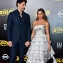"Sofía Vergara and Joe Manganiello : ""Solo: A Star Wars Story"