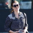 Amy Adams – Leaving an Office in Beverly Hills