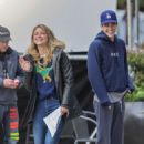 Melissa Benoist, Grant Gustin and Tyler Hoechlin – Vancouver 10/23/2018- Filming
