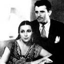 Dolores del Rio and Cedric Gibbons - 454 x 605