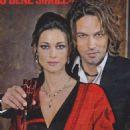Manuela Arcuri and Gabriel Garko