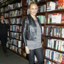 Cameron Diaz promotes her new book 'The Body Book: The Law of Hunger, the Science of Strength and Other Ways to Love Your Amazing Body' at Barnes and Noble Union Square on January 6, 2014 in New York City