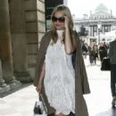 Laura Whitmore Somerset House For London Fashion Week