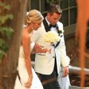 Jason Wahler and Ashley Slack Wedding - 454 x 535