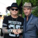 Drummer Matt Sorum (L) and Singer Matt Goss attend the 11th Annual John Varvatos Stuart House Benefit at John Varvatos on April 13, 2014 in Los Angeles, California. - 454 x 316