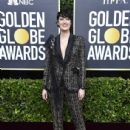 Phoebe Waller-Bridge wears  Ralph & Russo pantsuit : 77th Annual Golden Globe Awards