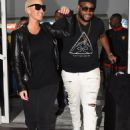 Blac Chyna and Amber Rose Arrive in Trinidad and Tobago - February 8, 2016