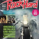 Rob Halford - Rock Hard Magazine Cover [Germany] (October 1991)