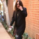 Rocker Ozzy Osbourne stops by a doctors office for a check up in Beverly Hills, California on November 4, 2016