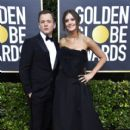 Taron Egerton and Emily Thomas At The 77th Golden Globe Awards (2020) - 411 x 600