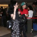 Krysten Ritter at LAX Airport in Los Angeles - August 23, 2016