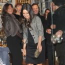 Mila Kunis: out for dinner at Caviar Kaspia