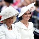 Prince Windsor and Kate Middleton attended the annual Trooping the Colour ceremony