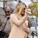 Khloe Kardashian – Leaving Petit Tresor in Los Angeles - 454 x 583