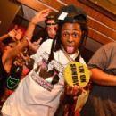 Lil Wayne and Christina Milian and Club Liv