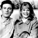 Julie Christie and Laurence Harvey