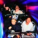 Ariana Grande with friends at Disneyland in Anaheim - 454 x 385