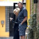Nicky Whelan with Sam Newman in LA - 454 x 681