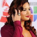 Demi Lovato at the 2011 Latin Grammy Awards