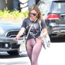 Hilary Duff – Shopping at Switch Boutique in Bel-Air
