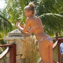 Gemma Atkinson Wearing A Bikini On A Holiday In Bali