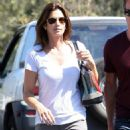 Cindy Crawford Out In Malibu With Her Family