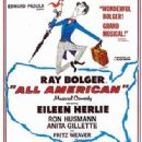 All American. Starring Ray Bolger and Fritz Weaver