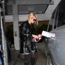 Paris Hilton - High Heels Candids At Gas Station