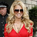 Jessica Simpson - Leaving The Ritz Carlton Hotel And Heading Over To The Steiner Studios In Brooklyn In NYC, 24.07.2008.