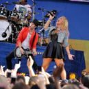 Demi Lovato performs on ABC's