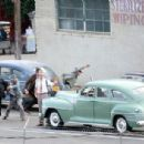 Ryan Gosling Films 'The Gangster Squad'