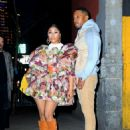 Nicki Minaj – Seen at the Marc Jacobs fashion show in New York City