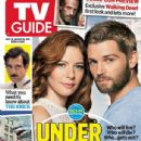 Mike Vogel, Rachelle Lefevre, Under the Dome - TV Guide Magazine Cover [United States] (28 July 2014)