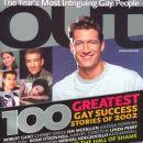 Robert Gant Out Magazine 100 Greatest ... December, 2002