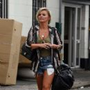 Kerry Katona – Working in a Furniture Shop in Warrington - 454 x 703