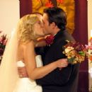 Tori Spelling as Alex and James O'Shea as Ryan in Kiss the Bride. - 454 x 341